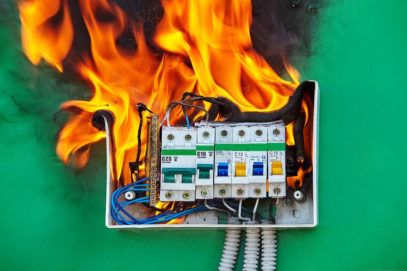 Home Inspection South Jordan Fire Hazard